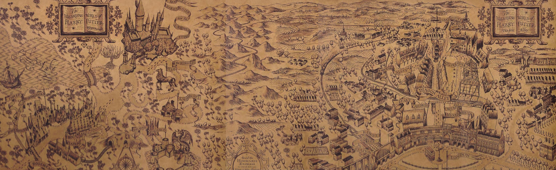 hogwarts karte Karte Von Hogwarts | Deutschland Karte hogwarts karte